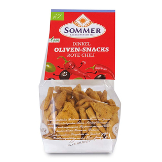Dinkel Oliven-Snacks Rote Chili  150 g